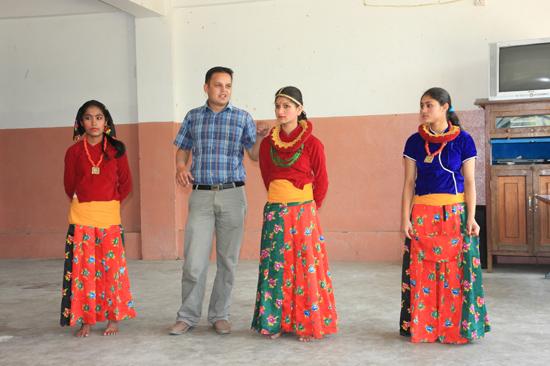 Leerlingen van de  Vajra Academy in de Kathmandu Vallei ondersteund door de Vajra Foundation Holland-0350