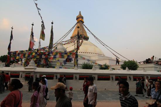 Stupa in Bodhnath -0500