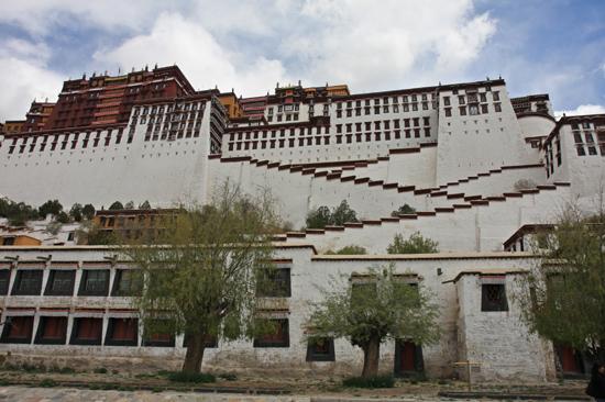 Potala Paleis in Lhasa Tibet-1060
