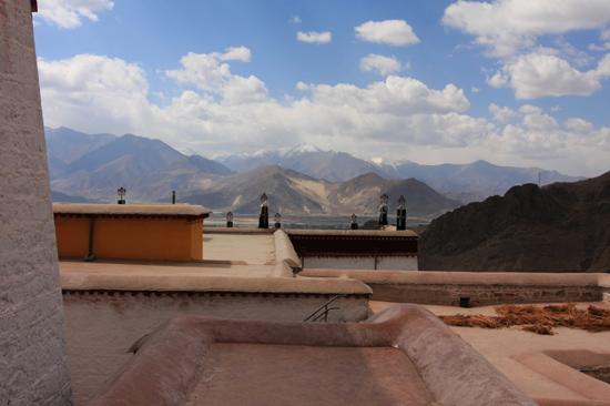 Drepung klooster - 8 km ten westen van Lhasa. Een van de grootste kloosters ter wereld (1416)-1090